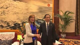 Ангелкова се бори за китайски туристи и инвеститори