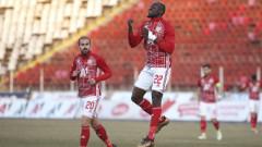 Новата звезда в атака на ЦСКА Али Соу: Не искам да спирам да вкарвам, силно желая титлата