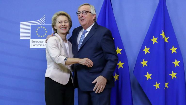 Юнкер подкрепи Лайен за председател на ЕК