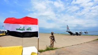 US военен самолет катастрофира при кацане в Ирак