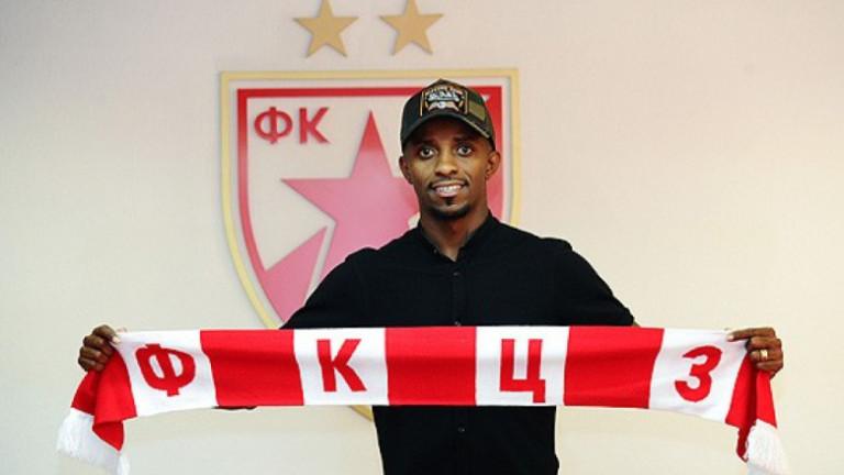 Бившият футболист на Лудогорец Джонатан Кафу бе официално представен като