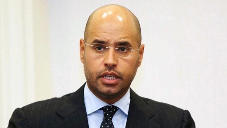 Освободиха от затвора сина на Кадафи
