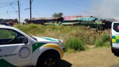 200 ранени при влакова катастрофа в ЮАР