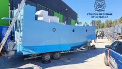 Полицията в Испания откри първата наркоподводница европейско производство