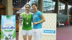 Линда Зечири на четвъртфинал в Кардиф