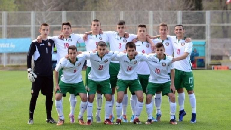 Юношеският национален отбор записа нова победа в контролите