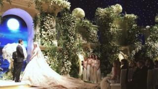 Руски олигарси вдигнаха сватба в дома на Оскарите (СНИМКИ)