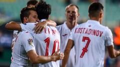 България вкара петте си гола в Лигата на нациите след шест удара във вратата