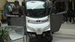 Суперкар на батерии представя хърватска компания