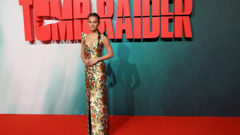 Алисия Викандер представи новата Лара Крофт