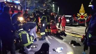 Осем души са задържани за мелето в нощния клуб в Италия