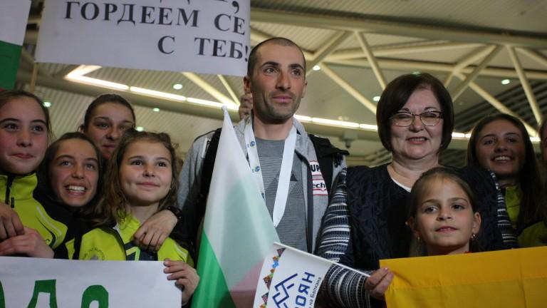 Световният вицешамопион по биатлон - Владимир Илиев най-сетне е на