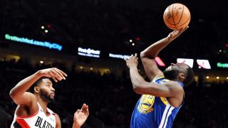 Голдън Стейт е на победа от финал в НБА след силно второ полувреме срещу Портланд