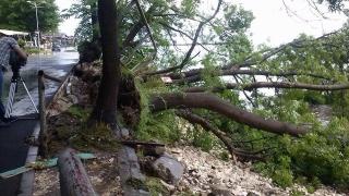 Порои наводниха Варна и Казанлък