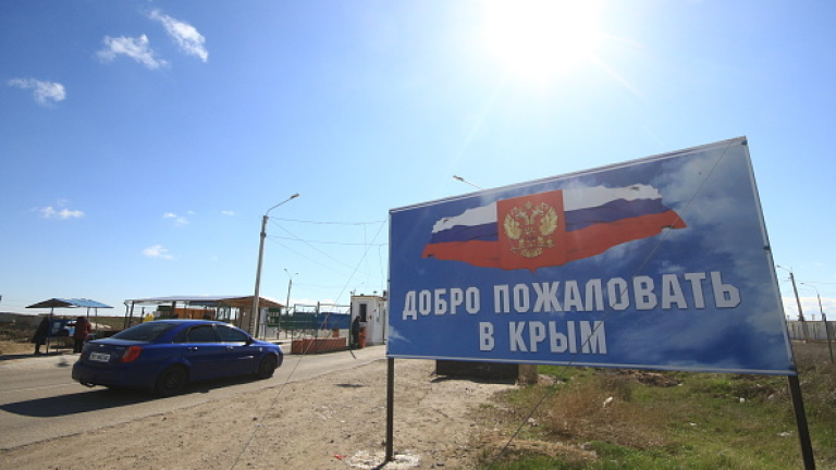 Путин печели Крим и губи Русия