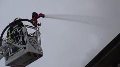 Пожар изпепели вятърната мелница в село Белинци