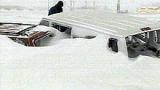 Румънската столица също е блокирана от снега
