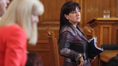 Цвета Караянчева е категорична, че няма натиск в работата си