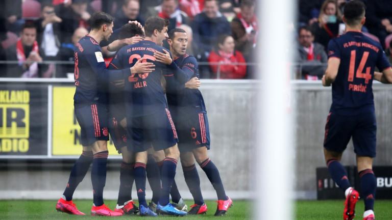 Важна цел за Байерн (Мюнхен) в Шампионска лига