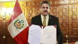 Новият президент на Перу положи клетва