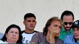 Жуниор Брандао гледа на живо Лудогорец