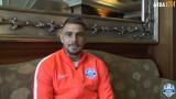 Емил Мартинов:  Мотивиран съм да зарадвам феновете на Арда