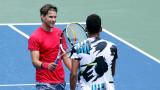 Андрей Рубльов и Доминик Тийм вече са част от най-добрите осем на US Open