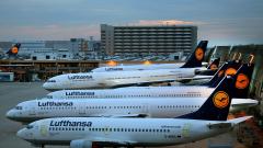Lufthansa удвоява оперативната си печалба