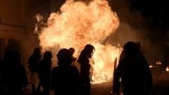 """Анархисти предупредиха за """"кръвопролитие"""" на готвения протест в Атина срещу БЮРМ"""
