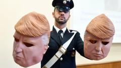 Ала Доналд Тръмп обири на банкомати в Италия