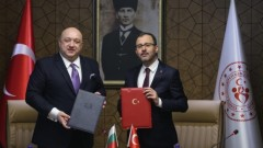 Министър Красен Кралев подписа с турския си колега Меморандум за сътрудничество