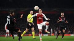 Арсенал с нова победа срещу Милан, рефер подслади успеха на лондончани