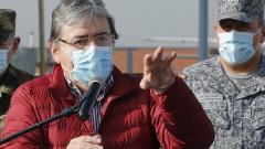 Коронавирусът отне живота на военния министър на Колумбия