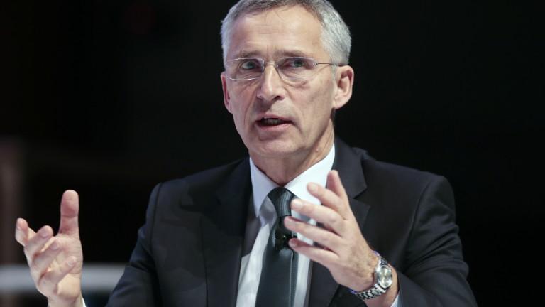 НАТО категорично подкрепи Турция във връзка със ситуацията в Сирия