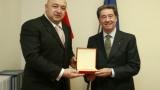 Министър Кралев се срещна с шефа на Международния кънки съюз