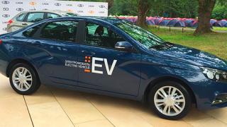 Показаха електрическа Lada Vesta