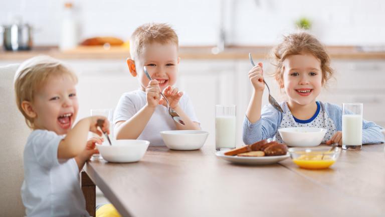 Храните и напитките, които вредят на децата
