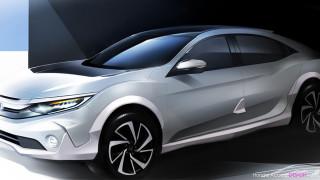 Honda готви премиера на кросоувър Civic и дамски Jazz Elegant
