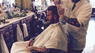 Дейвид Бекъм отиде на подстрижка в Португалия
