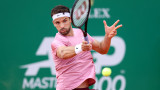 Григор Димитров открива програмата срещу Шарди в сряда