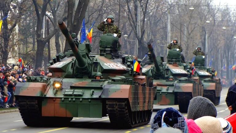 Военните разходи на Румъния се увеличават с 50% между 2016