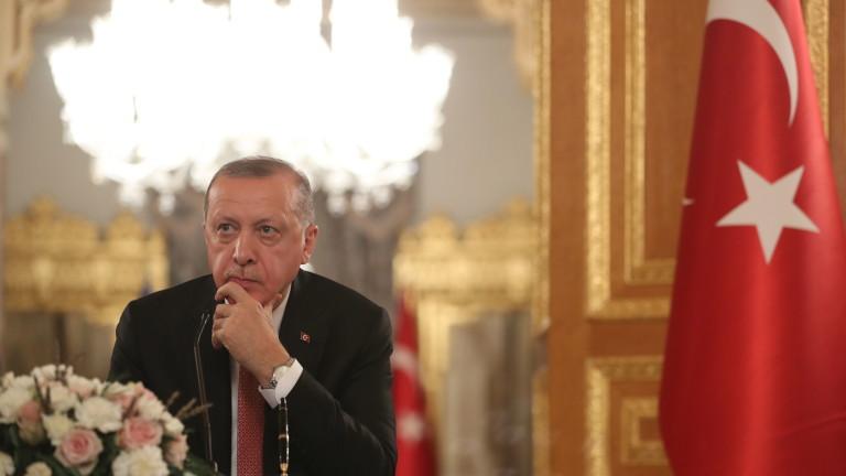 Ердоган предупреди: Не можем да бъдем изключени от ресурсите на Средиземно море