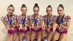 Ансамбълът по художествена гимнастика продължава с медалите!