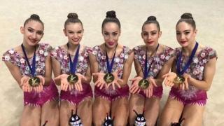 Ансамбалът по художествена гимнастика продължава с медалите!