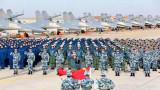 Китай провежда офанзивни учения с кораби и самолети край Тайван