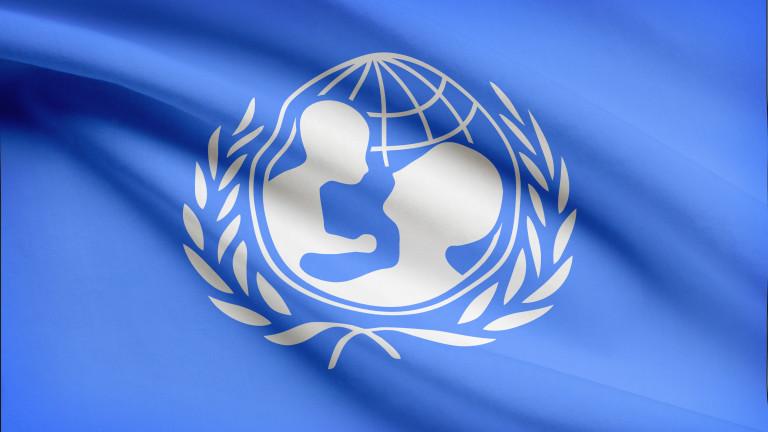 1/3 от близо 700 милиона деца по света на под