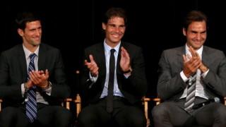 Надал, Джокович и Федерер имат общ... чат
