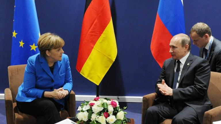 Първа двустранна среща Меркел - Путин в Германия от анексирането на Крим