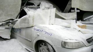 ТИР троши коли край Бяла