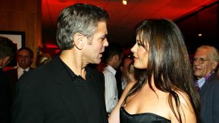 Как Катрин Зита-Джоунс се пошегува с Джордж Клуни